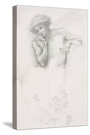 Study of a Hill Fairy for 'Arthur in Avalon', 1885