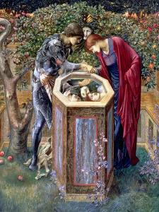The Baleful Head, C.1876 by Edward Burne-Jones