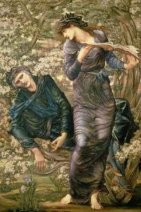 The Beguiling of Merlin, 1872-77 by Edward Burne-Jones