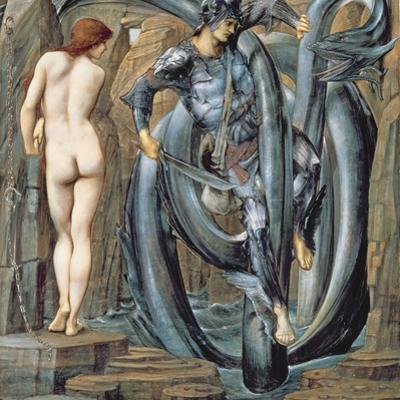 The Doom Fulfilled (Perseus Slaying the Sea Serpent) C.1882 by Edward Burne-Jones