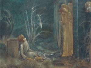 The Dream of Lancelot by Edward Burne-Jones