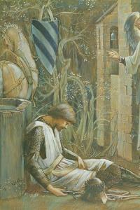 The Failure of Sir Lancelot by Edward Burne-Jones