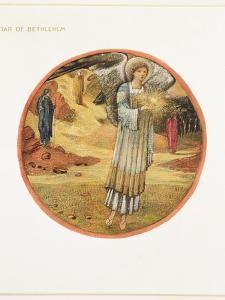 The Flower Book: WW. Star of Bethlehem, 1905 by Edward Burne-Jones