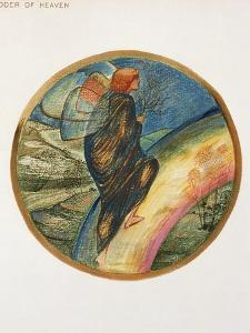 The Flower Book: XII. Ladder of Heaven, 1905 by Edward Burne-Jones