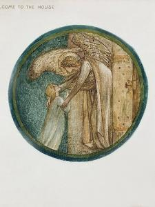 The Flower Book: XXXI. Welcome to the House, 1905 by Edward Burne-Jones