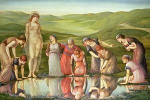 The Mirror of Venus by Edward Burne-Jones