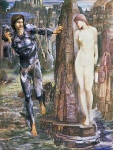 The Rock of Doom, C.1876 by Edward Burne-Jones