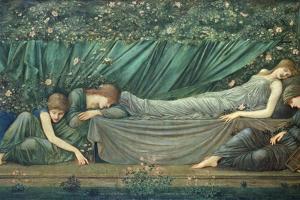 The Sleeping Princess, 1874 by Edward Burne-Jones
