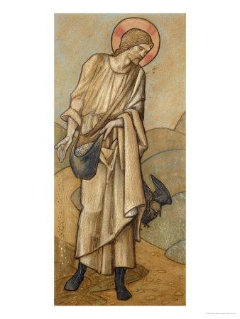 The Sower: a Design for Stained Glass at Brighouse, Yorkshire, 1896