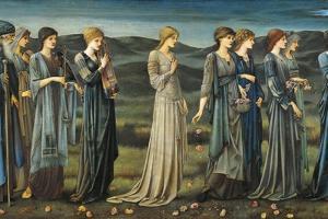 The Wedding of Psyche, 1895 by Edward Burne-Jones