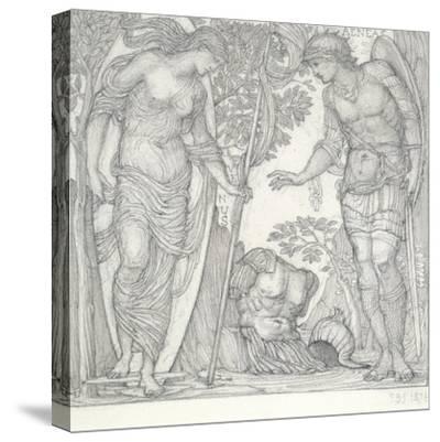Venus Bringing Armour to Aeneas, 1874