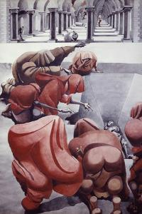 From Wake, Untitled by Edward Burra