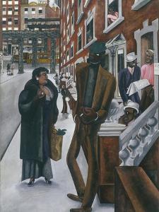 Harlem by Edward Burra