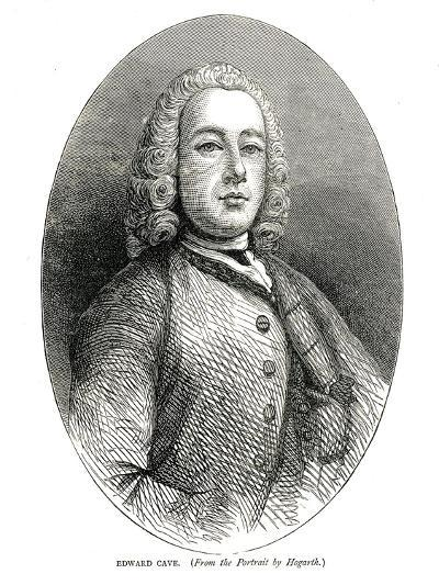 Edward Cave, C.1700S-William Hogarth-Giclee Print