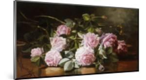 Rainwashed Roses by Edward Chalmers Leavitt