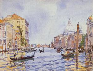 Afternoon On The Grand by Edward Darley Boit