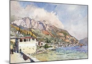 Morning At Gargagno, Lake Of Garda, Italy, 1911 by Edward Darley Boit