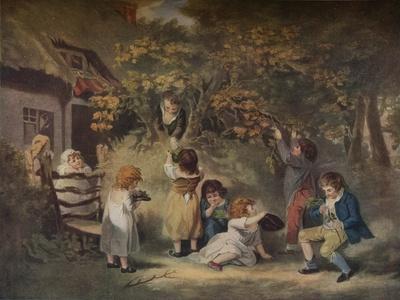 'Children Nutting', c1783