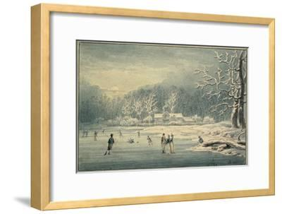 Hyde Park in the Snow, 1796
