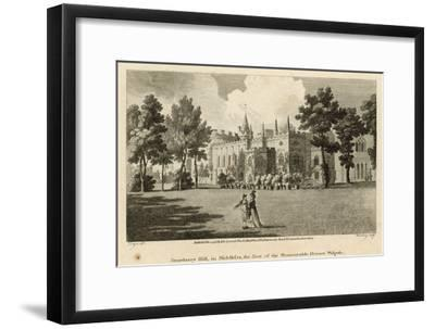 Strawberry Hill, Twickenham, London, the Seat of the Honourable Horace Walpole