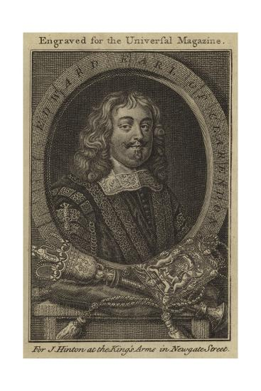Edward, Earl of Clarendon--Giclee Print