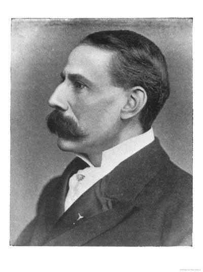 Edward Elgar Composer at the Time of the Performance of His Oratorio the Apostles--Giclee Print