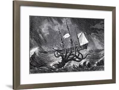 The Kraken, as Seen by the Eye of Imagination, from John Gibson's Monsters of the Sea, 1887