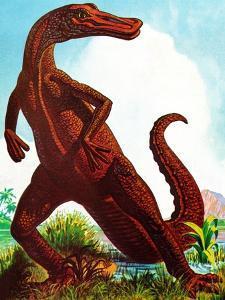 Dinosaurs - Jack & Jill by Edward F. Cortese