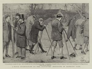 A Field Examination of the Surveyors' Institute in Osterley Park by Edward Frederick Brewtnall