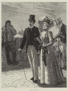 After Church by Edward Frederick Brewtnall