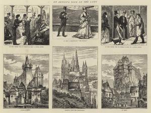 An Artist's Tour on the Lahn by Edward Frederick Brewtnall