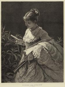 Counting Her Conquests by Edward Frederick Brewtnall