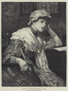 Her Considering Cap by Edward Frederick Brewtnall