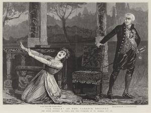 La Tosca at the Garrick Theatre by Edward Frederick Brewtnall