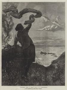 Sindbad Sees a Sail, in the Exhibition at the Dudley Gallery by Edward Frederick Brewtnall