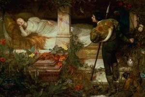 Sleeping Beauty by Edward Frederick Brewtnall