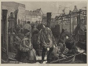 The Fish-Market at Berlin by Edward Frederick Brewtnall
