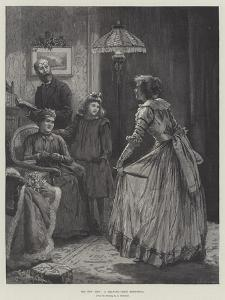 The New Step, a Drawing-Room Rehearsal by Edward Frederick Brewtnall