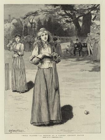 Well Played!, a Sketch at a Ladies' Cricket Match