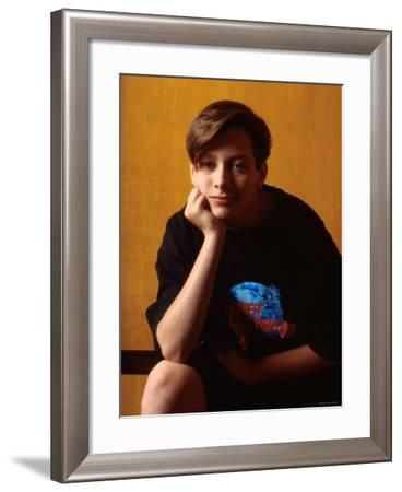 Edward Furlong--Framed Premium Photographic Print