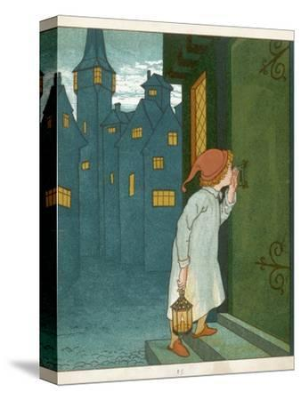 Wee Willie Winkie Runs Through the Town Upstairs and Downstairs in His Nightgown Rapping