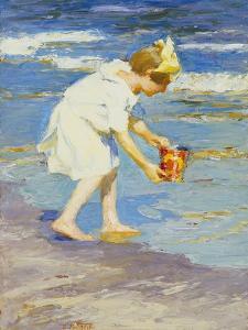 Brighton Beach by Edward Henry Potthast