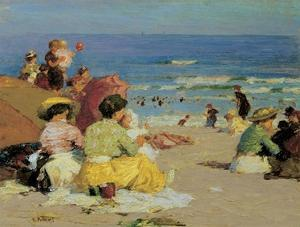 Family Outing by Edward Henry Potthast