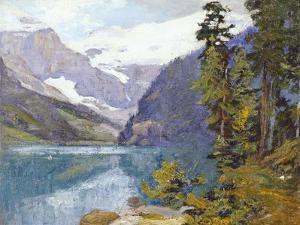 Lake Louise, British Columbia by Edward Henry Potthast