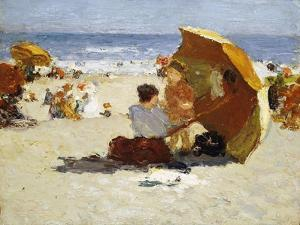 Late Afternoon, Coney Island by Edward Henry Potthast