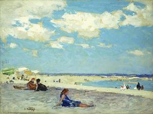 Long Beach by Edward Henry Potthast