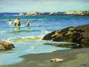 Low Tide by Edward Henry		 Potthast