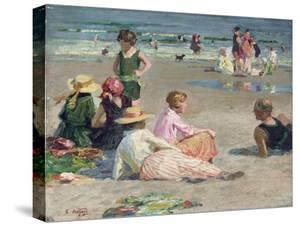 Manhattan Beach by Edward Henry Potthast