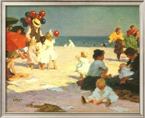 On the Beach (Potthast) by Edward Henry Potthast