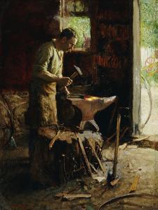 one pBlacksmith by Edward Henry Potthast